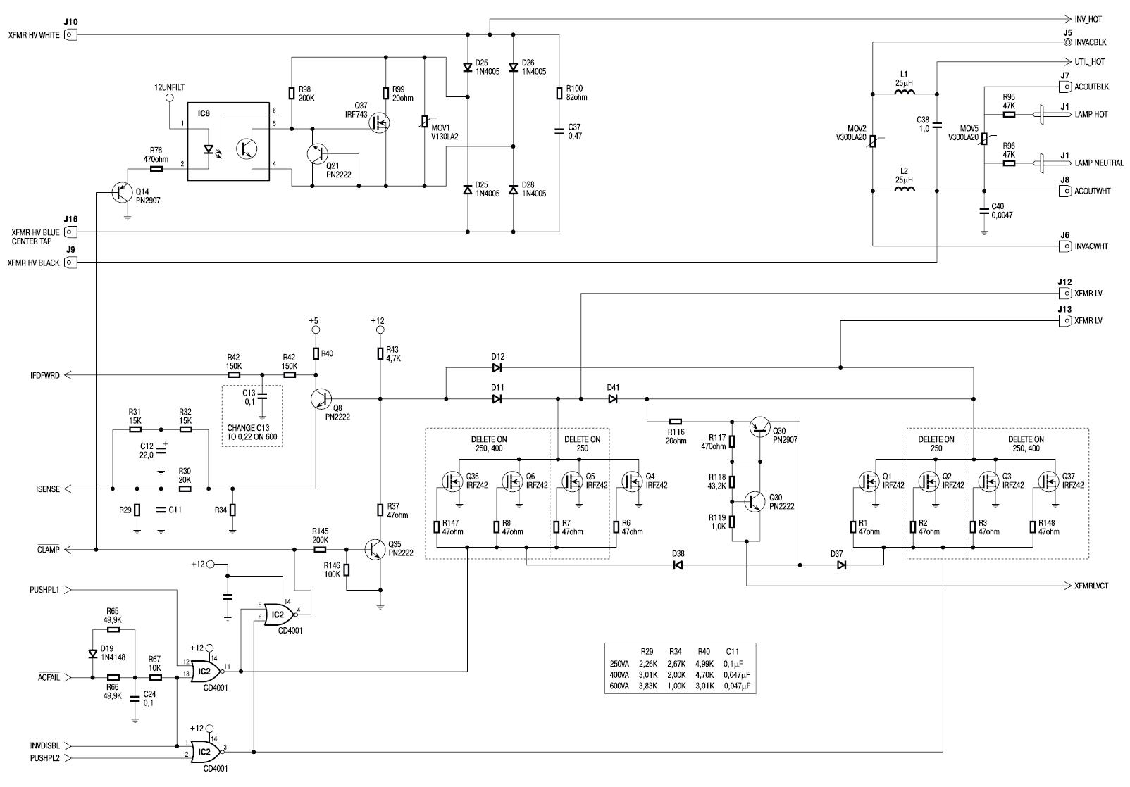 Устройство ИБП класса off-line.