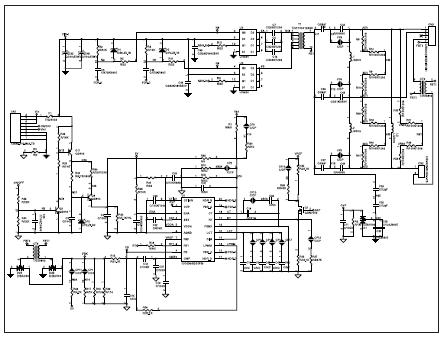 схема узла инвертора для