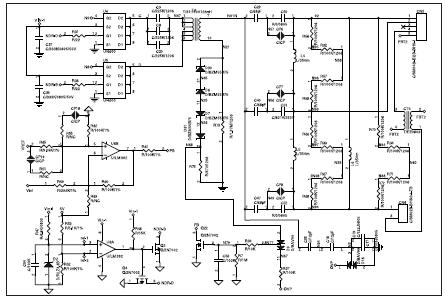 электрическая схема фаркопа