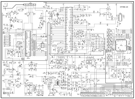 схема шасси HT700-01